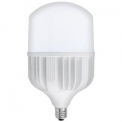 80W-os LED izzó, 8000 lm, T140 E27, hideg fény