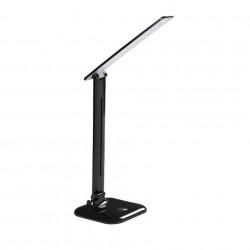 9W LED asztali lámpa (350lm), semleges fény, (4000K), érintésvezérlés, tompítható, fekete, Kanlux