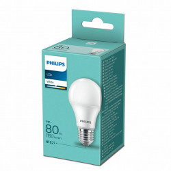 Bec LED Philips, E27, 11W(80W), 1150 lm, A++, lumina calda(3000 K)