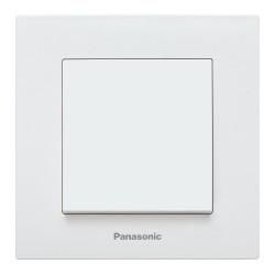 Egypólusú kapcsoló Karre Plus Panasonic, ST, fehér
