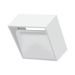 Fali lámpa, négyzet alakú 8W, fehér, Braytron, meleg fény