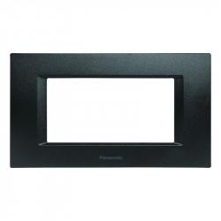 Keret, 4 modul, Thea moduláris Panasonic, fekete