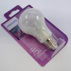 LED izzó 11W A60 E27, Philips, meleg fény