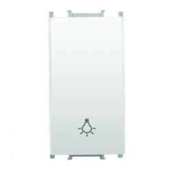 Nyomó kapcsoló, 1 modul. Thea Modular Panasonic, fehér