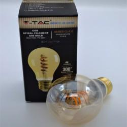 Vintage LED izzó, csavart izzószálas 4W 2200K