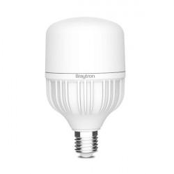 50W-os LED izzó, 4380 lm, T140 E27, Braytron, hideg fény