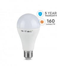Bec led E27 15W(150W), 2500 lm, lumina rece, V-TAC Evolution