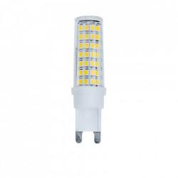 G9 led izzó, tompítható, 6W (40W), 550 lm, A +, hideg fény, Optonica