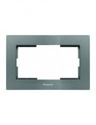 Keret 2 modul, grafit, IP20, Panasonic Arkedia Slim
