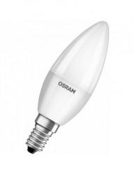 LED gyertya izzó, E14, 6W (40W), meleg fény, 470 lm, A +, Osram