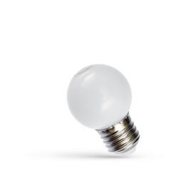 LED izzó 1W Fehér E27, hideg fény, Braytron