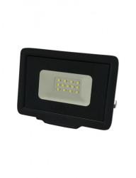 LED projektor, 10W, 800 lm, hideg fény, fekete, Optonica