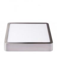 Spotlámpa 18W-os alumínium váz, négyzet alakú, alkalmazott, semleges fény, Lumiled