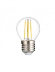Vintage LED izzó 4W (27W), tompítható, E27 foglalat, meleg fény, Optonica
