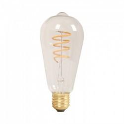 Vintage LED izzó, avokádó, tompítható, meleg fény, E27