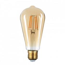 Vintage led izzó, E27, 4W (35W), avokádó alakú, meleg fény, A +, Optonica