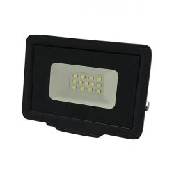 20W-os LED projektor, 1600 lm, hideg fény, fekete, Optonica
