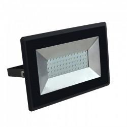 V-TAC LED projektor, fekete test, 50W