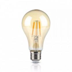 Vintage LED izzó, E27, 10W (60W), meleg fény, 850 lm, A +, V-TAC