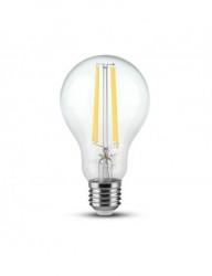 Vintage led izzó, E27, 12,5 W (100 W), hideg fény, 1550 lm, A ++, V-TAC