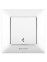 Alternativ kapcsoló, 10A, IP20, fehér, Panasonic Arkedia Slim