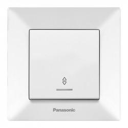 Alternativ kapcsoló LED-del, Arkedia Panasonic, ST, fehér