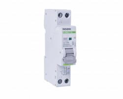 Automatikus biztosíték differenciálvédelemmel 10A P + N, 1 modul, AC típusú, 30mA, 4.5kA, Noark