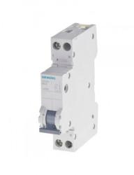 Automatikus kismegszakító P+N, 16A, C kioldási jelleggörbék , megszakító-képesség 6kA, Siemens