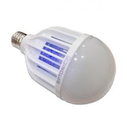 Bec led 8W + bec antiinsecte, lumina naturala(4500 K), dulie E27, Optonica