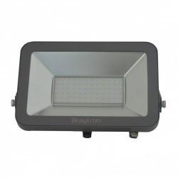 LED projektor 100W SMD IP65 3000K, szürke, Braytron