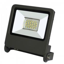 LED projektor 20W SMD IP65 6400K, szürke, Braytron