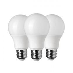 3 db LED izzó 11W (75W), 1055 lm, természetes fény, A +, Optika
