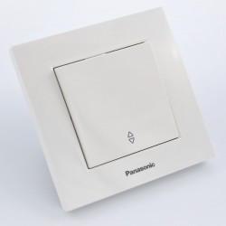 Alternativ kapcsoló Karre Plus Panasonic, ST, fehér
