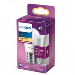 Bec LED Philips, E27, 5.5W(40W), 470 lm, A+, lumina calda(2700 K)