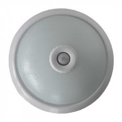 LED fali lámpa mozgásérzékelővel, 18W, hideg fény