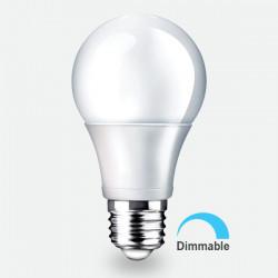 LED izzó 10W A60 E27, tompítható, Braytron, meleg fény
