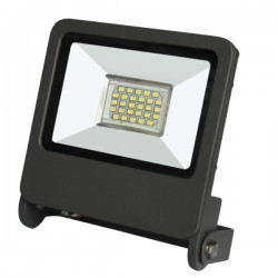 LED projektor 20W SMD IP65 3000K, szürke, Braytron