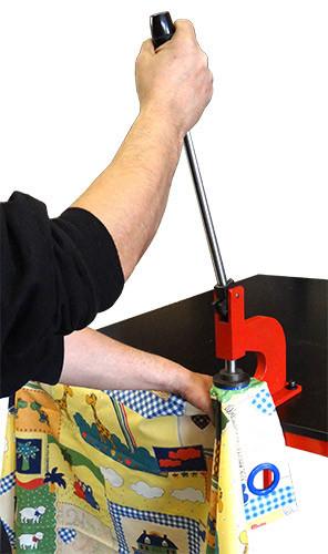 Poze Capsator de banc Ø 12mm (presa manuala, stanta 12mm) not selfpiercing
