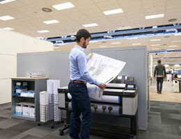 Poze HP Designjet T3500 Production eMFP (EOL)