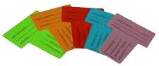 Poze Carduri identificare rola - pachet de 10 buc.