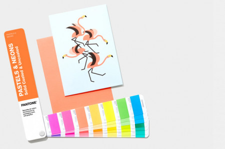 Poze Pantone PASTELS & NEONS GUIDE coated/uncoated