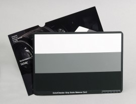 Poze X-Rite ColorChecker Grey Scale Balance Card (3 step)