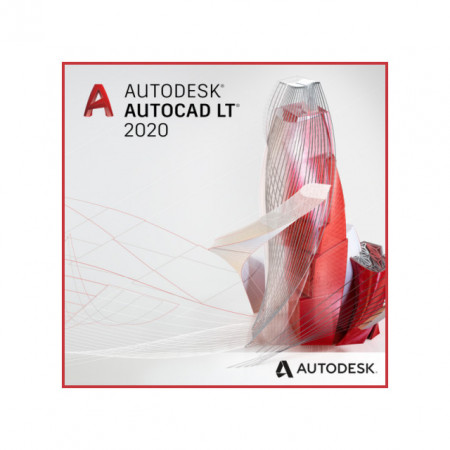 Autodesk AutoCAD LT Commercial Single-user 2-Year Subscription Renewal