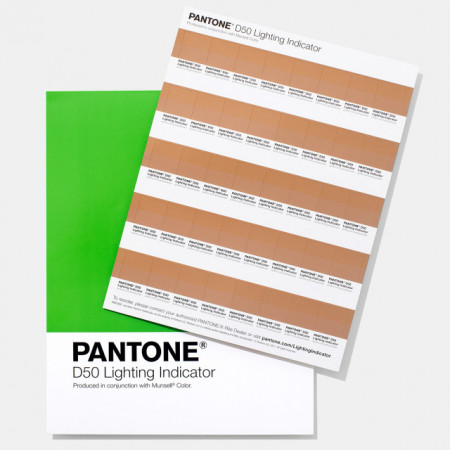 Poze Pantone LIGHTING INDICATOR STICKERS D50