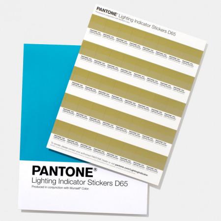 Poze Pantone LIGHTING INDICATOR STICKERS D65