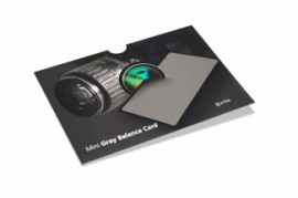Poze X-Rite Mini ColorChecker Grey Balance Card