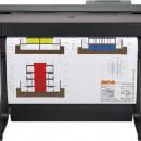 HP Designjet T650 36-in Multifunction Printer