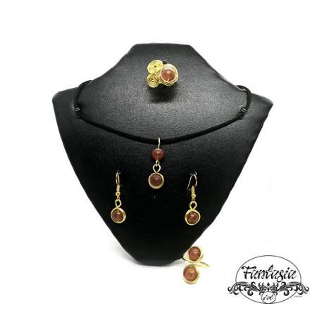 Set bijuterii Carneol