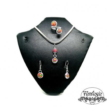 Set bijuterii Malachit