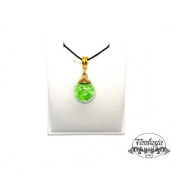 Colier cristale green